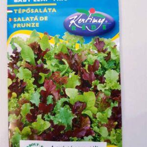 Baby leaf trio saláta vegyszermentes vetőmag
