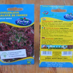 Lollo Rossa saláta vegyszermentes zöldség vetőmag